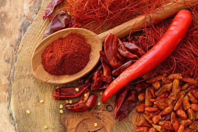 Paprika e Peperoncino