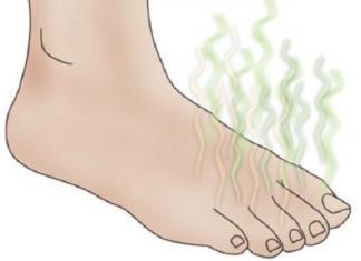 puzza di piedi