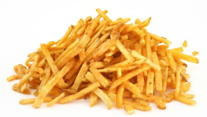patatine fritte sane e leggere