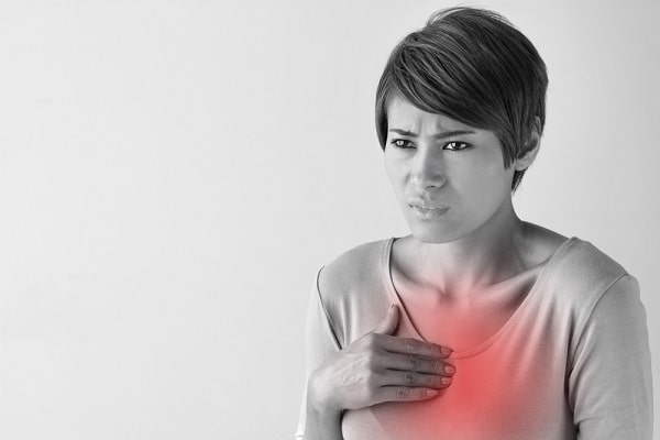 sintomi di infarto nelle donne