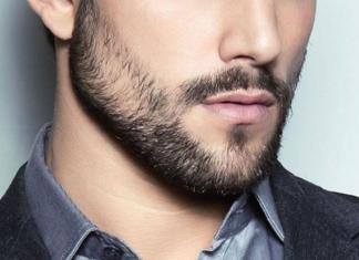 Barba a chiazze