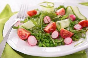 insalata di piselli